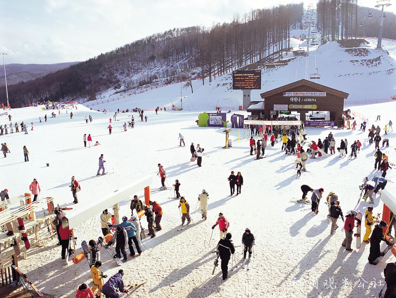 Khu trượt tuyết Yangji Pine