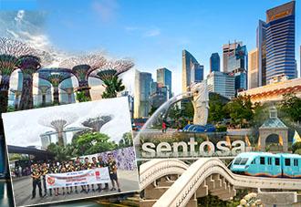 Du lịch Singapore: Hà Nội - Singapore - Đảo Sentosa