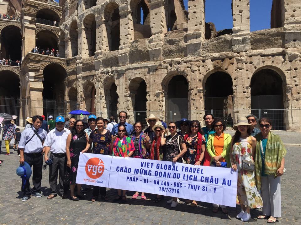 Du lịch Châu Âu khám phá thiên đường Ý 2018: Milan - Parma - La Spezia - Cinque Terre - Pisa - Rome 7N6Đ. KH:  09/05, 14/06, 27/09, 18/12