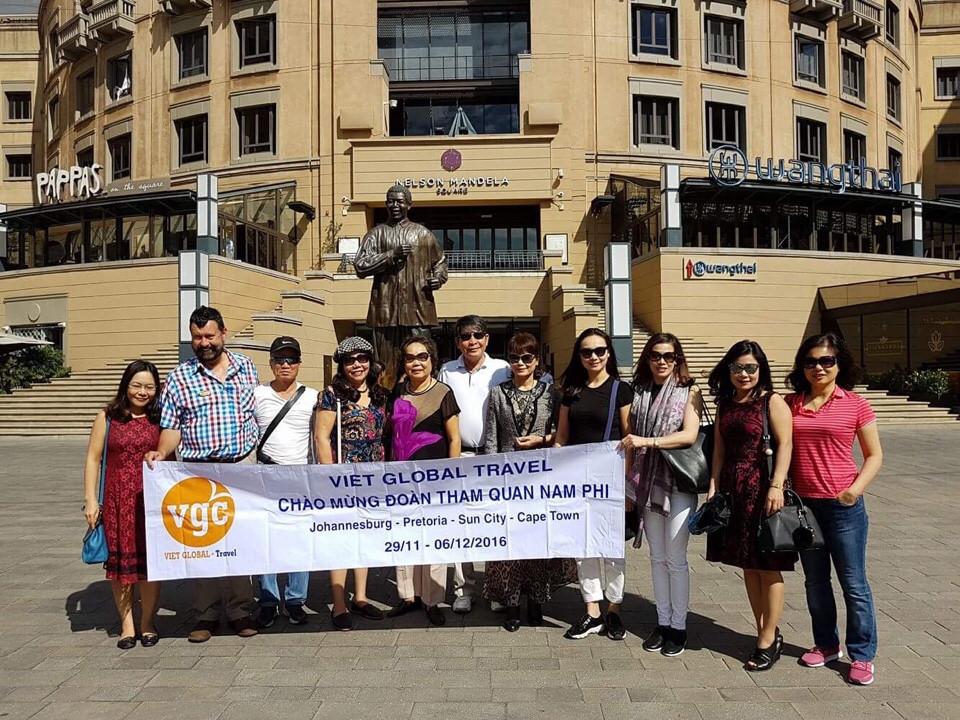 Doan Nam Phi Anh khach dang ky vietran khong chay duoc roi dang ky lai Vietglobal Travel