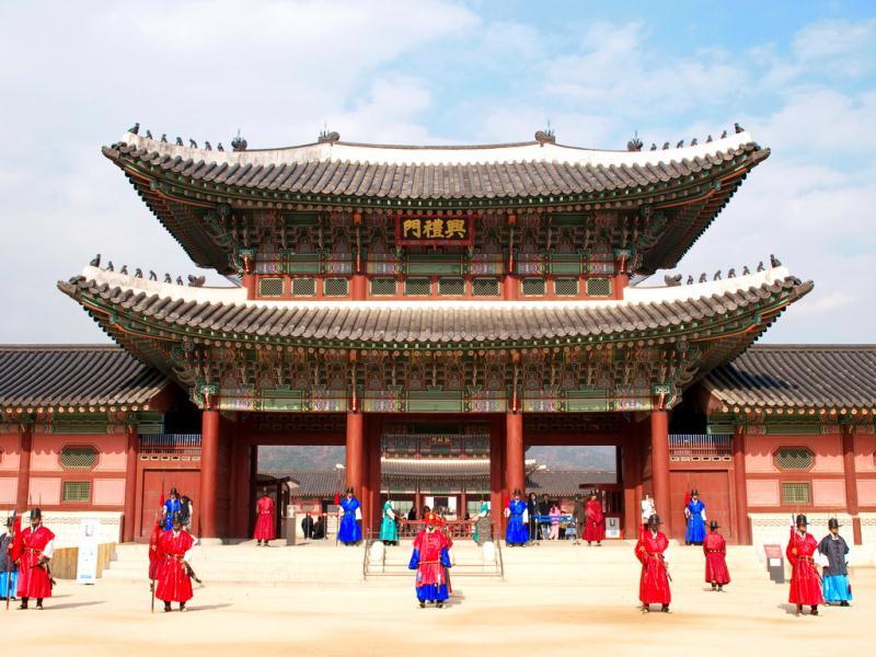 Cung điện Hoàng Gia Kyong-bok
