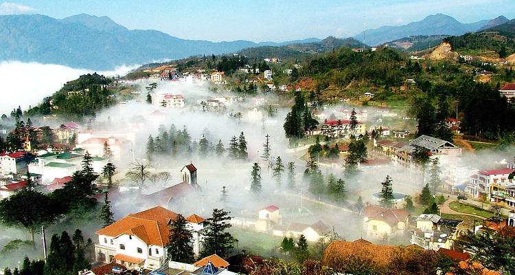 Du lịch SAPA: Hà Nội - Sapa - Núi Hàm Rồng