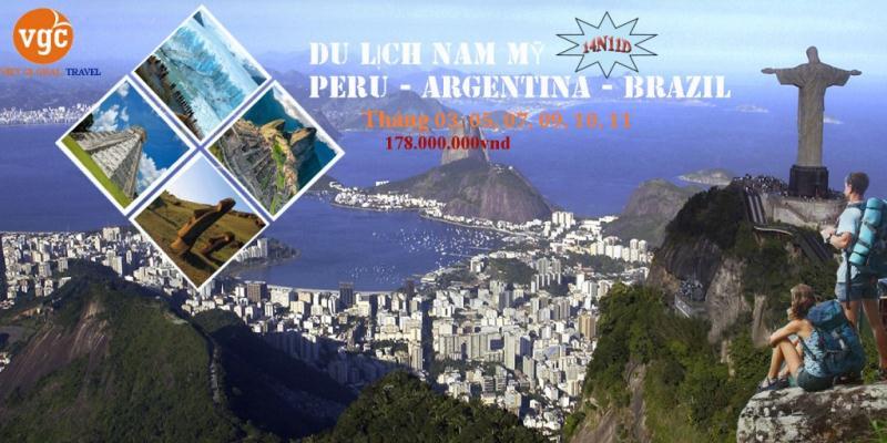 Du lịch  Brazil - Peru - Argentina 2019: Rio De Janeiro - Cuzco - Machu Picchu - Lima - Thác Iguazu - Buenos Aires 14N11Đ