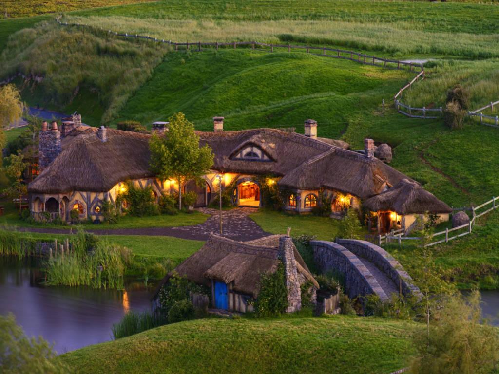 Những ngôi nhà Hobbits