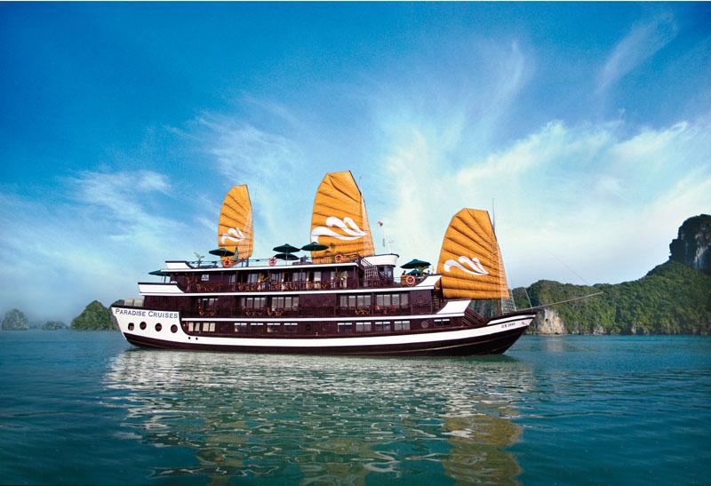 Tour Hạ Long 2 ngày 1 đêm với tàu Paradise Cruises