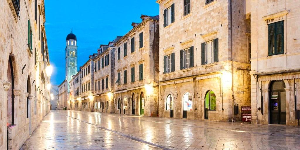 Phố cổ tại Dubrovnik