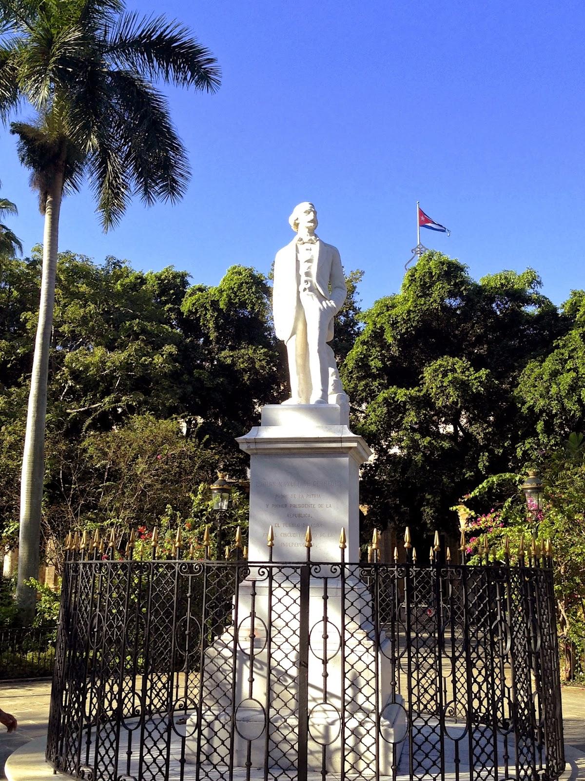 Bức tượng Carlos Manuel de Céspedes