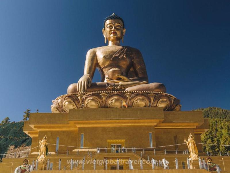 Tượng Phật Kuenselphodrang