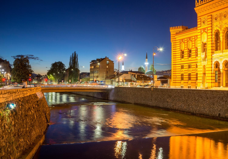 Phố cổ Sarajevo