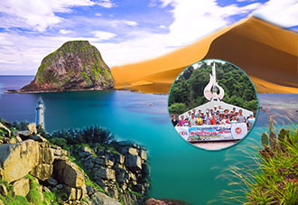 Du lịch Phú Yên - Bình Định: Huyền thoại xứ Nẫu Bình Định - Phú Yên thành phố yên bình