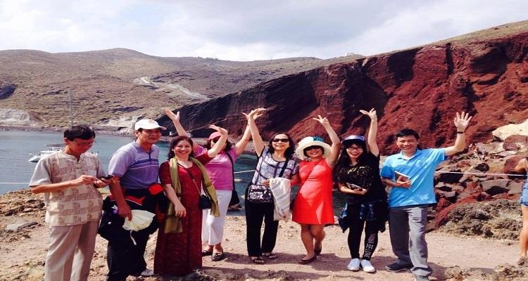 Đoàn khách của Vietglobal Travel tại Biển Đỏ