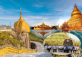 Du lịch Myanmar siêu hấp dẫn năm 2018: YanGon- Chùa Ba Vàng-Kyaikhtiyo- BaGo 4N3Đ. KH:  14/09, 03/12