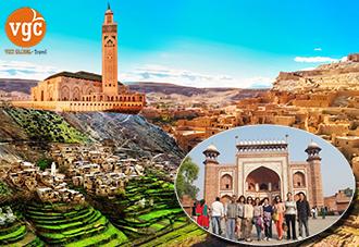 Du Lịch Maroc - Đất Nước Của Bộ Phim Kinh Điển Casablanca 13N12Đ- 2018:  KH 30/11, 28/12