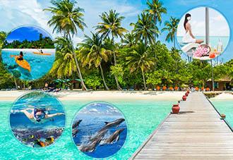 Du Lịch Thiên Đường Nghỉ Dưỡng Maldives Free & Easyb 5N4Đ