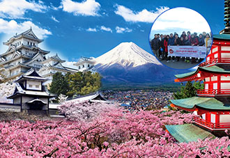 Du Lịch Nhật Bản 2019: Tokyo-Kawaguchi-Mt Fuji- Kyoto- Osaka 6N5Đ. KH: 10/12/2017, 15/01/2019, 14/02, 16/02, 18/02, 18/03