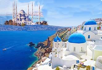 Du lịch Hy Lạp - Thổ Nhĩ Kỳ 2018: Athens-Santorini- Istanbul-Doha 8N7Đ. KH : 25/08, 18/09, 26/12
