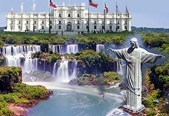 Du lịch Nam Mỹ 2018: Argentina – Brazil – Chile 10N9Đ:  25/05, 12/07, 09/10