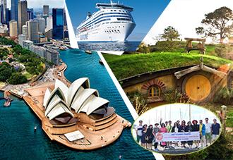 Du lịch Úc - New Zealand 2018: Sydney- Auckland – Rotorua – Melbourne 9N8Đ KH: 12/10, 19/12