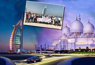 Du Lịch Dubai 2018:  DuBai - Abu Dhabi - DuBai 6N5Đ. KH:  17/10, 15/12