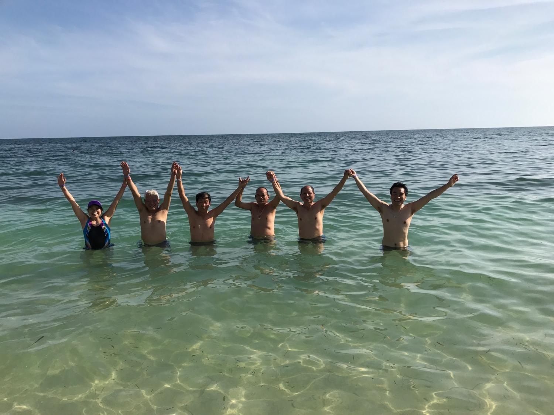 Đoàn khách Vietglobal travel