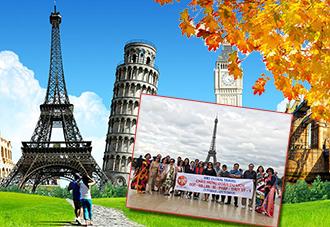 Du Lịch Châu Âu 6 nước 2019: Pháp - Bỉ - Hà Lan - Đức -Thụy Sỹ - Ý  KH: 2/05, 13/06, 11/07, 28/10, 11/12 .2019