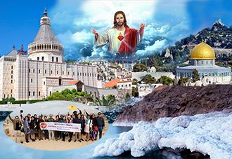 Du Lịch Israel 2019: Caesarea–Galile–Tiberias–Jericho–Bethlehem 8N7Đ  KH:  19/10, 26/12