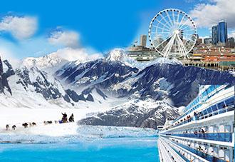 Thiên đường băng Alaska: Seattle - Anchorage - Willow - Whittier 7N6Đ