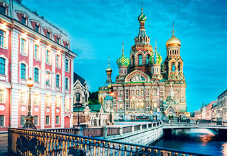 Khám phá nước Nga - Êm đềm trên sông Volga - Baltic: ST.Petersburg - Mandrogui - Kizhi - Goritsy - Yaroslavl - Uglich - Moscow 12N11Đ