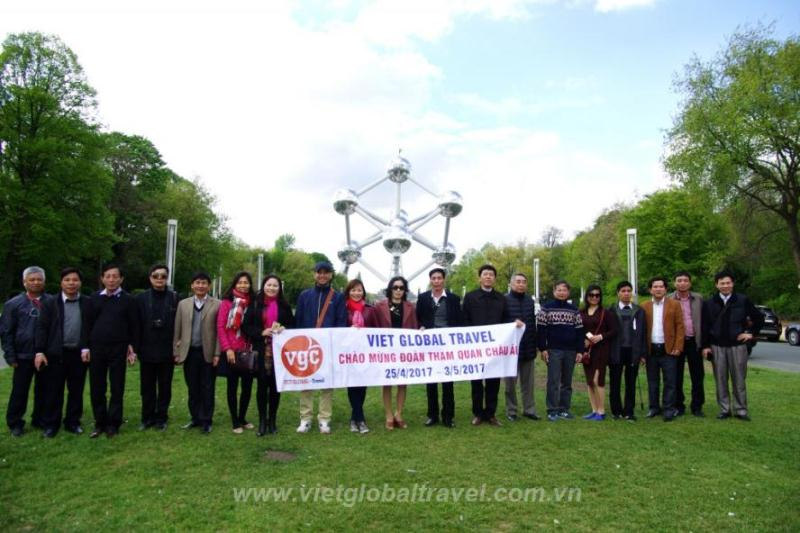 Du lịch Châu Âu 2019: Pháp - Bỉ - Hà Lan - Đức - Thụy Sỹ - Ý KH: Hàng Tháng