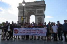Ảnh đoàn khách Việt Global travel 1/7/2017