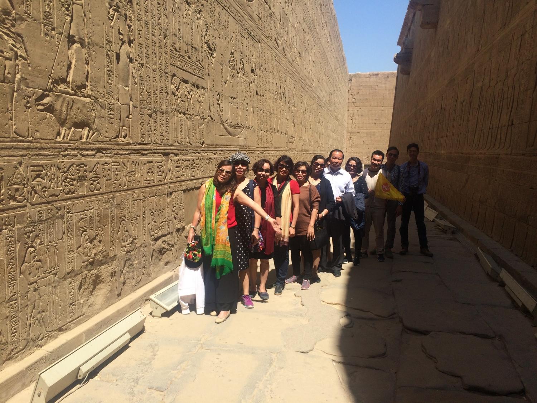 đoàn khách Ai Cập