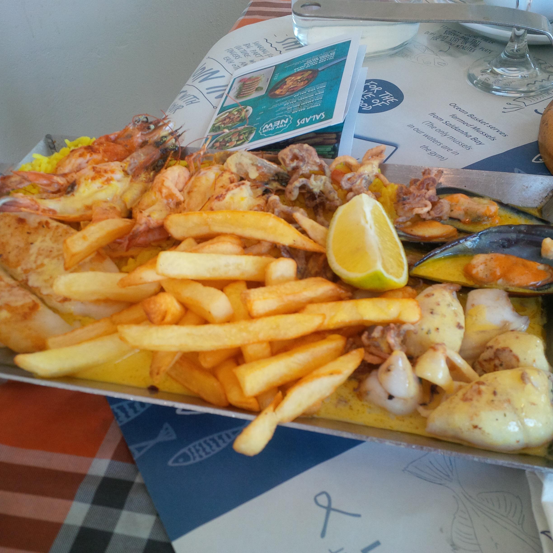1 phần bữa trưa tại Nam Phi