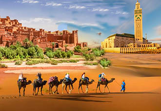 Du lịch đặc biệt Morocco: CASABLANCA – CHEFCHAOUN - FEZ – MERZOUGA – OUARZAZATE – MARRAKECH - CASABLANCA 2018 9N7Đ KH: 20/11