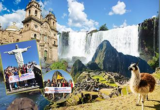 Du lịch Nam Mỹ:  Brazil-Peru-Argentina: Rio De Janeiro-Cuzco-Machu Picchu-Lima-Thác Iguazu-Buenos Aires 14N13Đ. Khởi hành: 09/12
