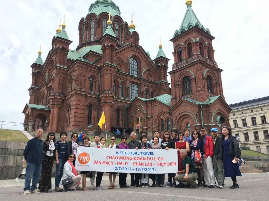 Chương trình du lịch Bắc Âu 2018: Đan Mạch - Na Uy - Thụy Điển - Phần Lan 9N8Đ