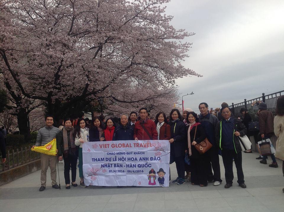 NHẬT BẢN - MÙA HOA ANH ĐÀO 2019: TOKYO – NÚI PHÚ SĨ - NAGOYA – KYOTO – OSAKA ; KH : 31/3/2019 + 4/4/2019+28/06/2019