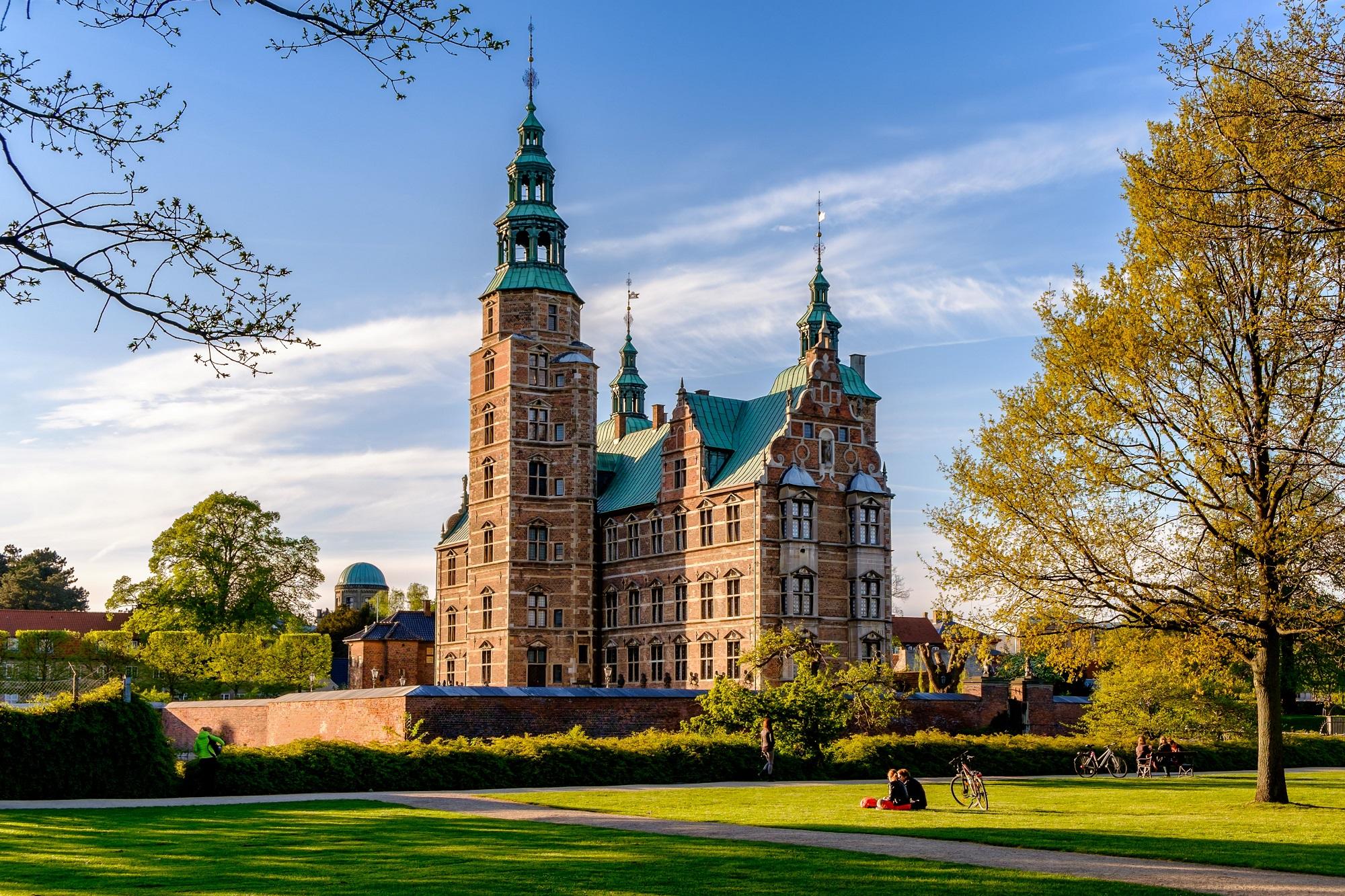 Rosenborg Castle, Copenhagen, Capital Region of Denmark, Denmark