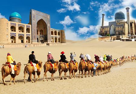 Du lịch Trung Á 2019: Hanh trình Con Đường Tơ Lụa : KAZAKHSTAN - UZBEKISTAN - AZERBAIJAN 18N17Đ KH: Liên hệ