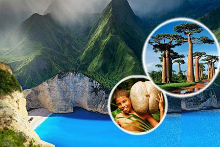 Du lịch Quần đảo: MAURITIUS - MADAGASCAR - REUNION - SEYCHELLES 18N17Đ. KH: Liên hệ