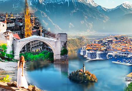 Khám phá cùng Trung Âu và Bán đảo Balkans: BAVARIA -  ÁO – SLOVENIA – CROATIA – MONTENEGRO  – BOSNIA & HERZEGOVINA 12N9Đ. KH 10.2018