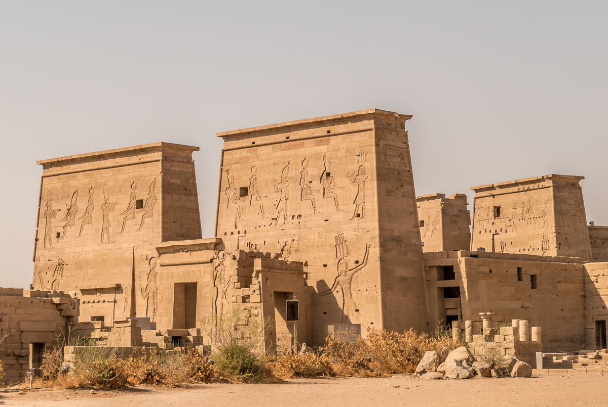 Temple of the goddess Isis