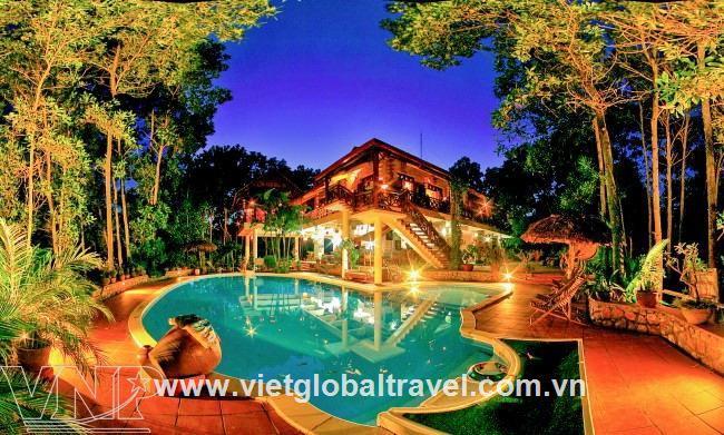 Tour du lịch Hà Nội - Vịt Cổ Xanh Resort 1 ngày