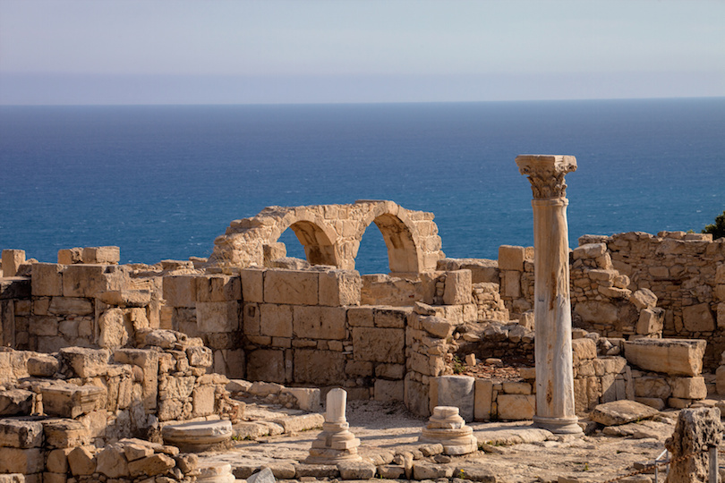 Kurion, important ancient archaeological monument in Cyprus