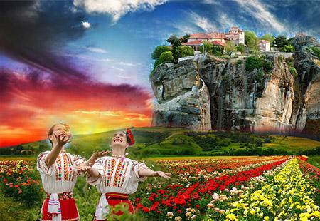 Du Lịch Châu Âu Khám Phá Lễ Hội Hoa Hồng Hy Lạp - Albania - đảo santonori - Macedonia - Bulgaria - Romania - 14N11Đ - KH 23/05/2019