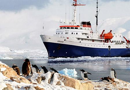 Du Lịch Đặc Biệt Duy Nhất 2019 Khám phá vẻ đẹp ngoạn mục vùng Nam Cực. KH: Đêm 11/12 – 24/12/2019 Thời gian : 13N - 10Đ
