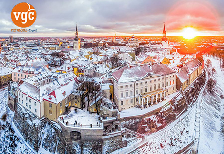 Du lịch Baltic đặc biệt 2019 du lịch Estonia - Latvia - Lithuania - Belrus - Ukraine : 14N - 11Đ   KH: 11/06 – 24/6/2019