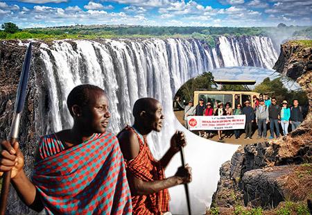 Châu Phi hoang dã mùa thú di cư 2019: KENYA– ZAMBIA  – ZIMBABWE 11N/8Đ Kh: 14.8.2019