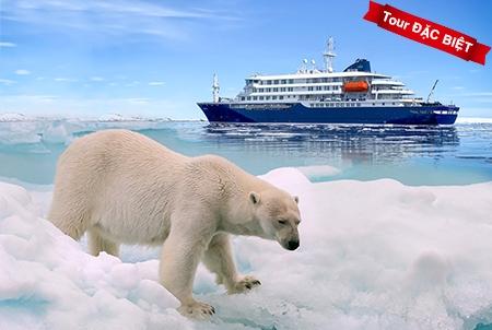 TOUR VIP: Chương trình trải nghiệm siêu đặc biệt: Khám phá vẻ đẹp ngoại mục vùng Bắc Cực TG 12N9Đ NKH 15/06/2020